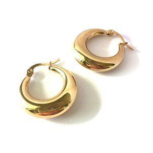 New ~ Anthropologie Bubble Hoop Earrings